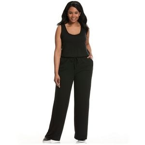 Livi Active black jumpsuit size 26/28